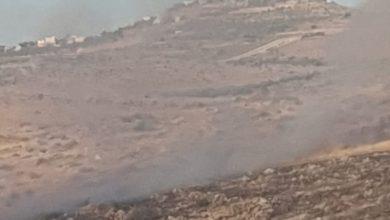 Photo of نشوب حريق في الطيبة والإطفاء يحاولون الوصول للحريق