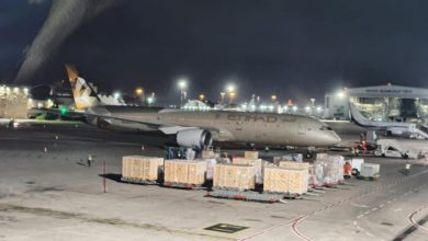 Photo of لأول مرة: طائرة اماراتية تهبط في مطار بن غوريون