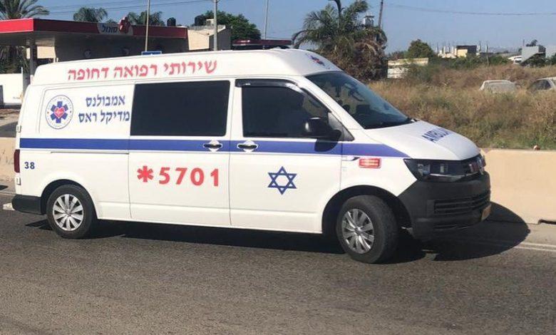 Photo of اصابة سيدة من الوسط اليهودي بحادث طرق في الطيبة