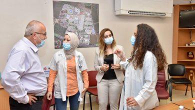Photo of النوّاب أسامة السعدي وسندس صالح بزيارة عمل إلى مستشفى الجليل الغربي – نهاريا
