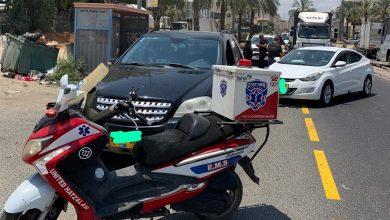 Photo of 3 اصابات بحادث طرق على مدخل مدينة قلنسوة