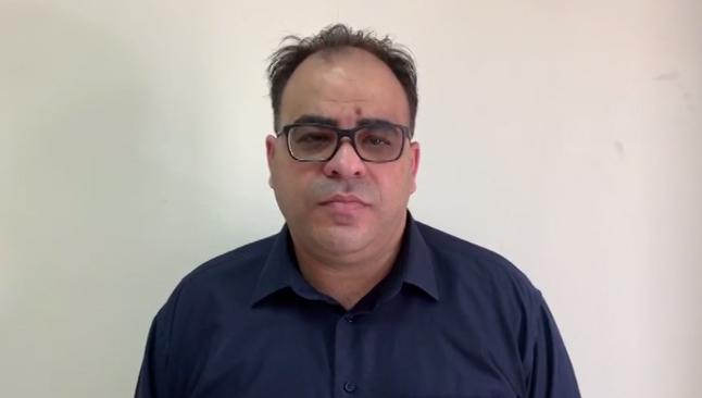 المحامي وعضو نقابة المحامين في لواء المركز يوسف مصاروة