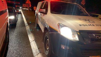 Photo of 4 اصابات بحادث طرق بين عدة سيارات في الطيبة