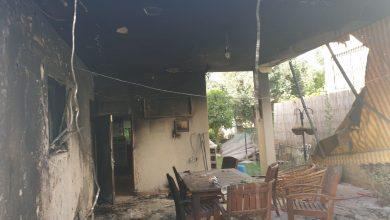 Photo of اندلاع حريق في مبنى ببلدة دالية الكرمل