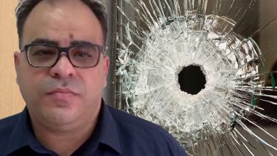"Photo of المحامي يوسف مصاروة :"" اطلاق النار على مكتبي عمل لا يقوم به الا الجبناء """