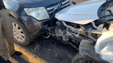 Photo of 3 اصابات بحادث طرق بالقرب من مدينة الطيبة
