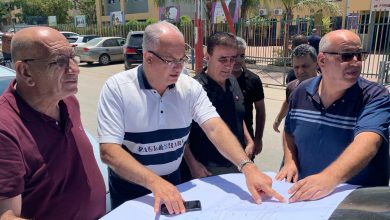 Photo of ادارة بلدية الطيبة تتفقد الأعمال الجارية في المحطة المركزية للمواصلات العامة غربي المدينة