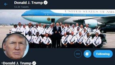 Photo of مناوشات تويتر وترامب مستمرة.. والموقع يحذف صورة نشرها الرئيس