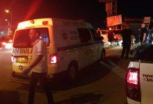 Photo of اصابة بحادث طرق على شارع 444 في مدينة الطيبة