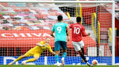 Photo of مانشستر يونايتد يقتحم المربع الذهبي بخماسية مذهلة ضد بورنموث