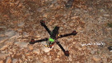 """Photo of """"حزب الله"""" ينشر صور الطائرة الإسرائيلية المسيرة التي سقطت في جنوب لبنان"""