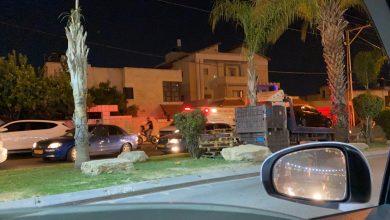 Photo of اصابة بحادث طرق في المنطقة الجنوبية بالطيبة