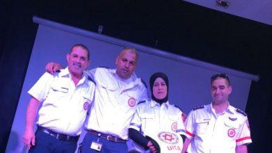 Photo of حنان زبارقة – اول سائقة سيارة اسعاف في مدينة الطيبة