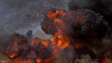Photo of حريق هائل يخلي مئات المنازل في كاليفورنيا