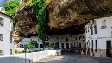 Photo of مدينة في اسبانيا تعيش تحت صخرة