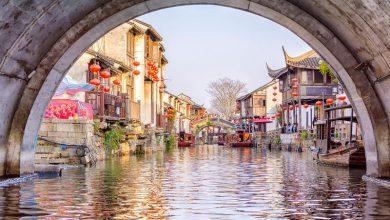 صورة مدن سياحية مبنية على القنوات المائية
