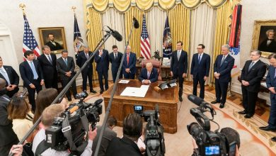 Photo of ترامب: معاهدة السلام بين إسرائيل والإمارات أمر عظيم