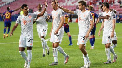 صورة مولر بعد الثمانية: استمتعنا أمام برشلونة وهذا ما سنفعله الآن