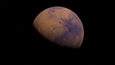 Photo of حدث فلكي يتيح رؤية المريخ والقمر جنبا إلى جنب بالعين المجردة هذا الأسبوع