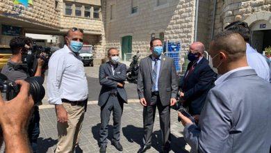 صورة جامزو يزور مستشفيات الناصرة وطالب بمحاسبة الأطباء والممرضين الذين يشاركون بأعراس لا تلتزم بالتعليمات!