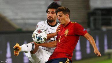 صورة هدف قاتل يمنح إسبانيا التعادل مع ألمانيا في دوري الأمم