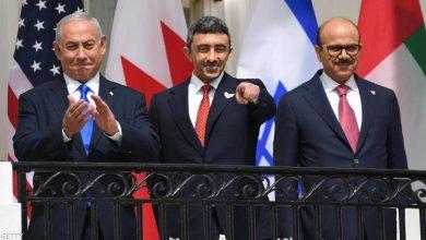 صورة عبد الله بن زايد قبل التوقيع: السلام سيغير وجه الشرق الأوسط