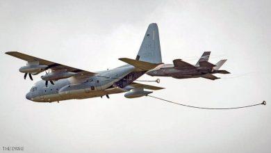 صورة صدام مخيف لحظة التزود بالوقود.. وتحطم فخر سلاح الجو الأميركي