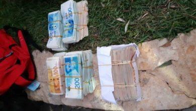 صورة ضبط مبلغ بقيمة 3.5 مليون شيكل خلال تفتيش منزل في كابول وتوقيف مشتبه