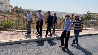 """صورة بلدية الطيبة: انتهاء أعمال تعبيد المرحلة الثانية في شارع """"خلة أبو عفيف"""""""
