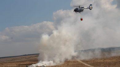 صورة تدريبات خاصّة لطواقم الإطفاء والانقاذ في منطقة الخضيرة ووادي عارة