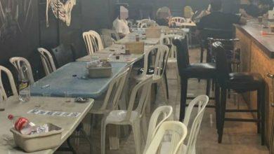 صورة ضبط مكان للمقامرة شمالي البلاد بالاضافة الى مخالفات تعليمات الاغلاق