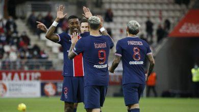 صورة بثنائية إيكاردي باريس سان جيرمان يهزم ريمس في الدوري الفرنسي