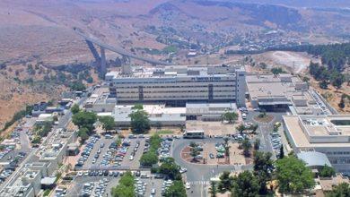 صورة مستشفى زيف في صفد: 28 مريضا في قسم الكورونا