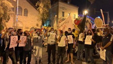 صورة رغم الحجر.. الاف تظاهروا لاسقاط نتنياهو للاسبوع 14 توالياً