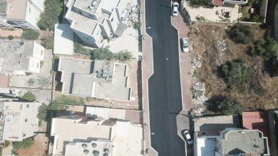 """صورة بلدية الطيبة: انهاء أعمال تعبيد المرحلة الثانية في شارع الشل """"117"""""""