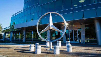 صورة مرسيدس مهددة بوقف مبيعات سياراتها بعد خسارة قضية ضد شارب اليابانية