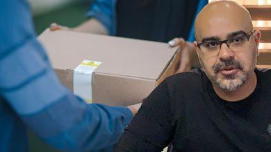 """صورة المحامي يوسف جمعة : """"نطالب كل المؤسسات الخيرية بالتعاون لتنال كل الاسر المحتاجة حقها """""""