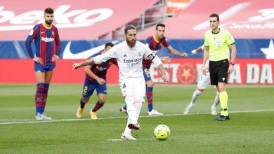 """صورة ريال مدريد يحرج برشلونة في عقر داره ويتصدر """"الليغا"""""""