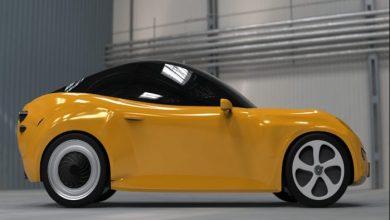 صورة الكشف عن لوكا.. أول سيارة كهربائية تصنع من النفايات