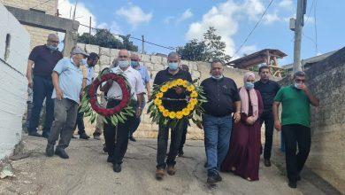 صورة عرابة: إحياء ذكرى هبة القدس والأقصى بزيارة أضرحة الشهداء