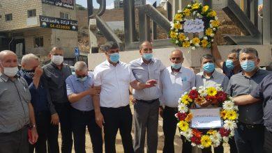 صورة ام الفحم ومعاوية: زيارة اضرحة شهداء هبة القدس والاقصى في الذكرى الـ20